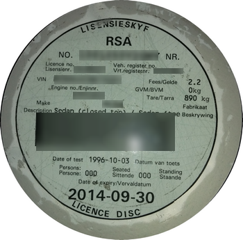 Proof Of Address Now Required For Vehicle Licence Disc