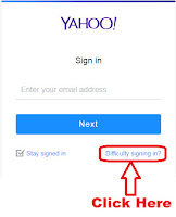 how can i recover my yahoo email address