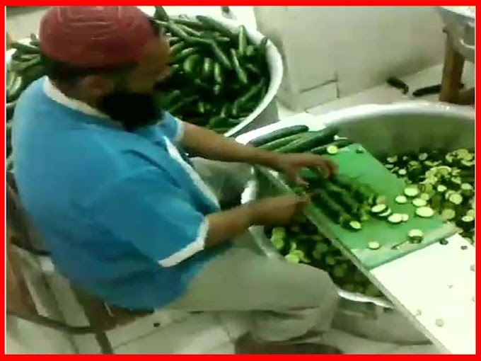 Desi Style Fast Vegetables Cutting Skill Video