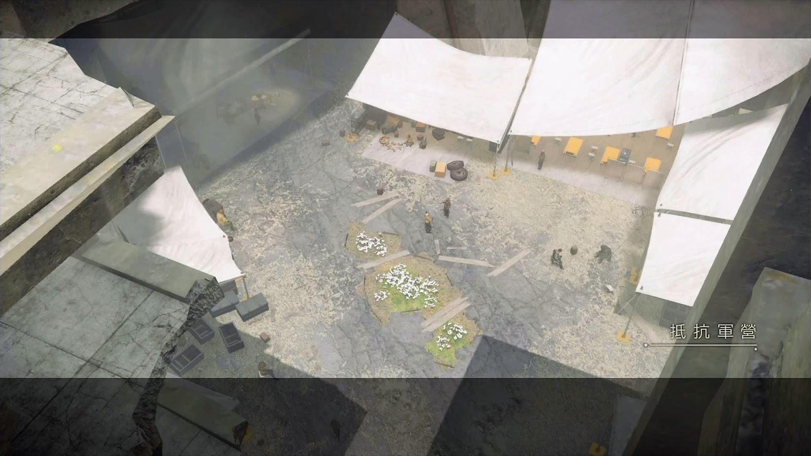 《尼爾:自動人形》A路線流程攻略-Ch.02:抵抗軍營 ~ Ch.03:亞當和夏娃