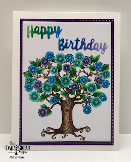 Our Daily Bread Designs: God's Beauty Coloring Pages, Paper Collection: Plum Pizzazz, Custom Dies:Rectangles, Double Stitched Rectangles, Celebration Words