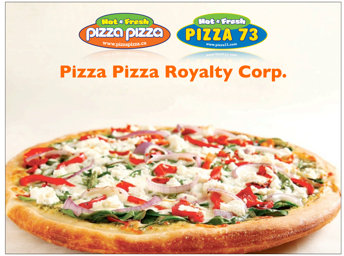 dividend income stocks recent stock purchase pizza pizza royalty
