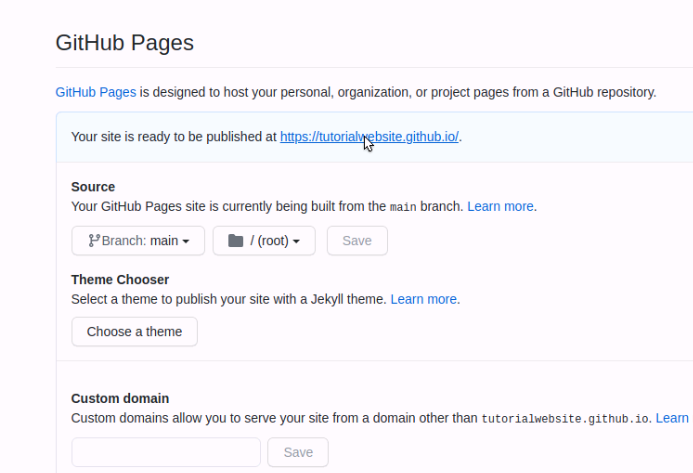 github fork from another repository