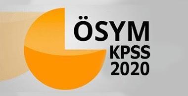 2020 KPSS LİSANS SINAVI TARİHLERİ NE ZAMAN