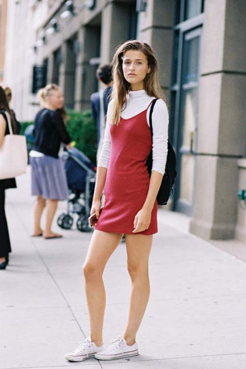 Street Style: Regitze Christensen Wears '90s Classics