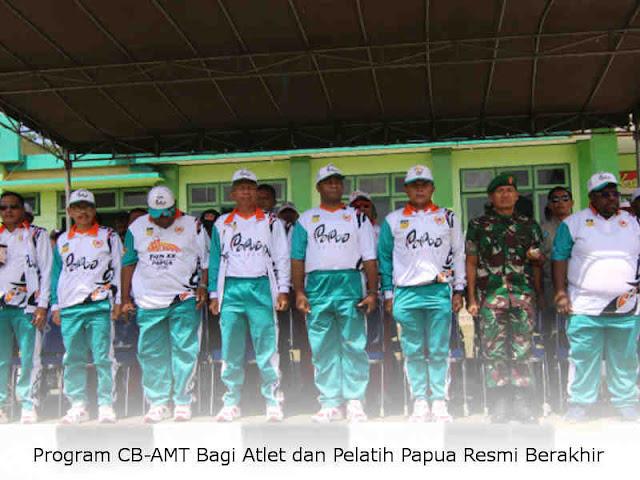 Program CB-AMT Bagi Atlet dan Pelatih Papua Resmi Berakhir