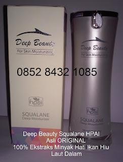Gambar deep beauty squalane yang asli packing terbaru