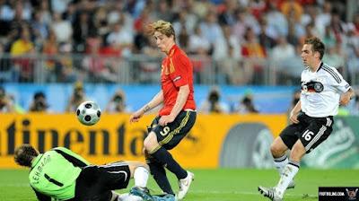 توريس هدف أمام ألمانيا