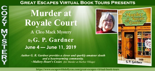 c0e46c7498 G.P. Gardner's Murder at Royal Court Blog Tour with a Spotlight, Excerpt  and Giveaway