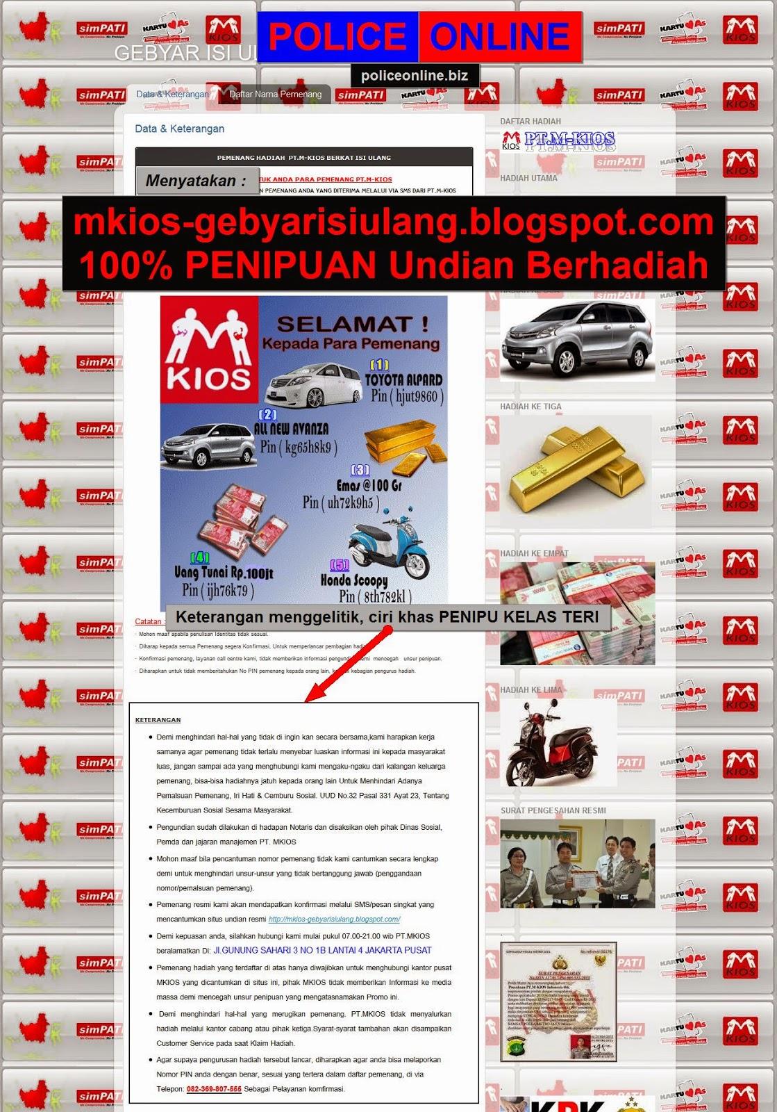mkios-gebyarisiulang.blogspot.com 100% PENIPUAN Undian Berhadiah