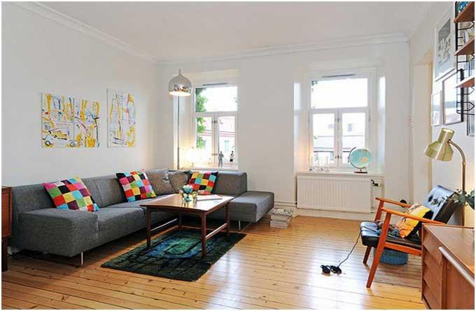 Bild Wohnzimmer Skandinavisch Einrichten