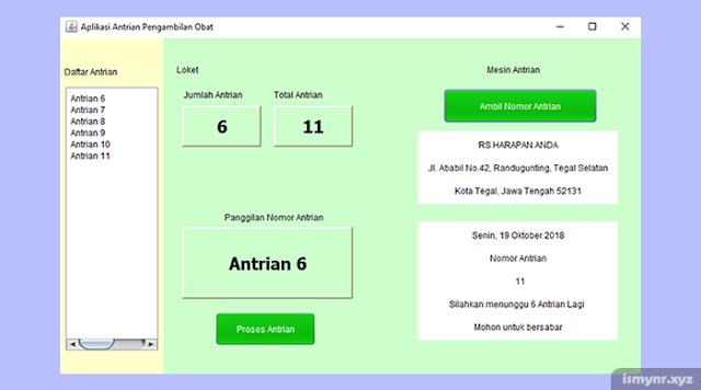 source code aplikasi antrian java dengan netbeans