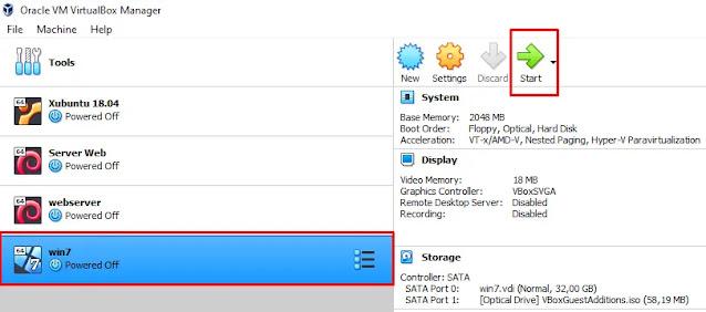 install vbox guest di windows 7