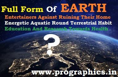 earth-full-form