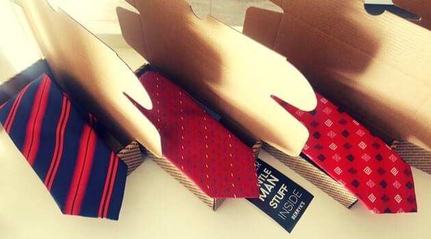 cajas de envio para corbatas
