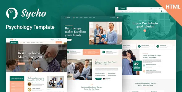 Best Psychology & Counseling HTML5 Template