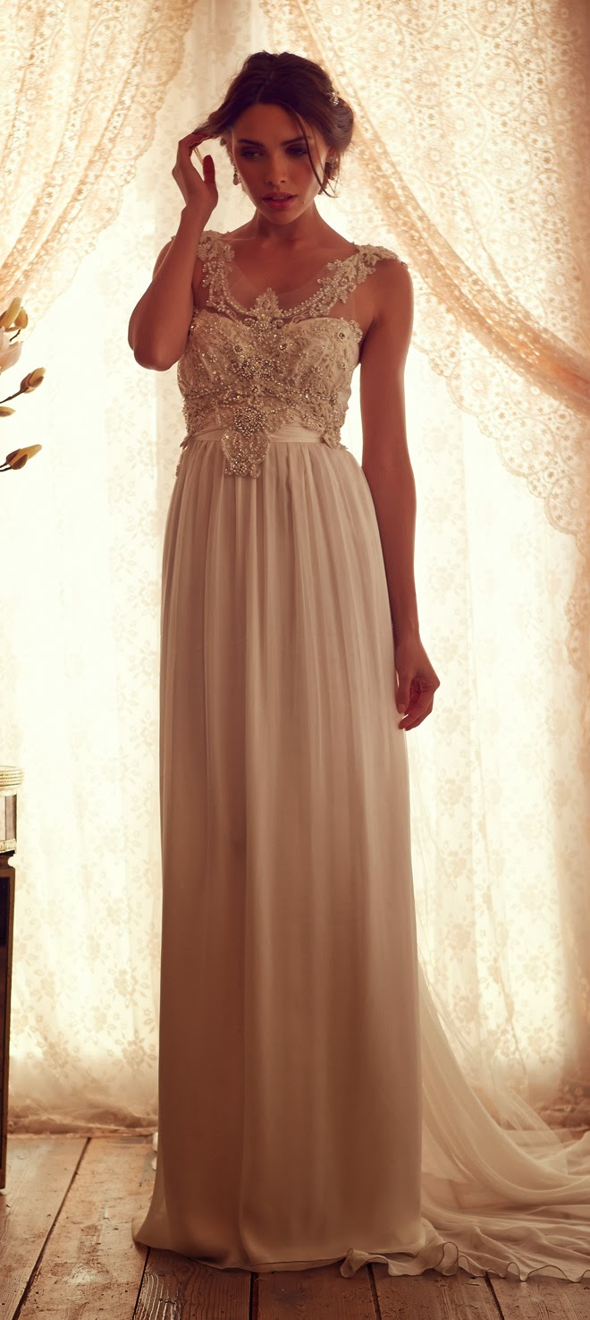 Anna campbell 2013 gossamer collection part 1 belle for Where to buy anna campbell wedding dresses