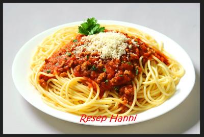 Resep Spaghetti
