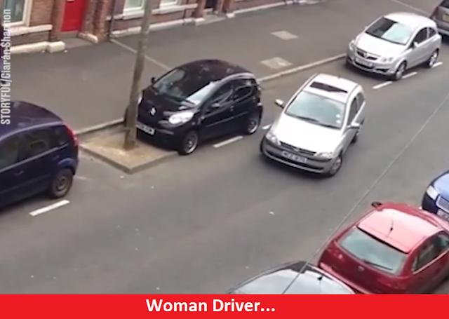 παρκάρισμα από γυναίκα οδηγό!