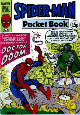 Spider-Man pocket book #8, Dr Doom