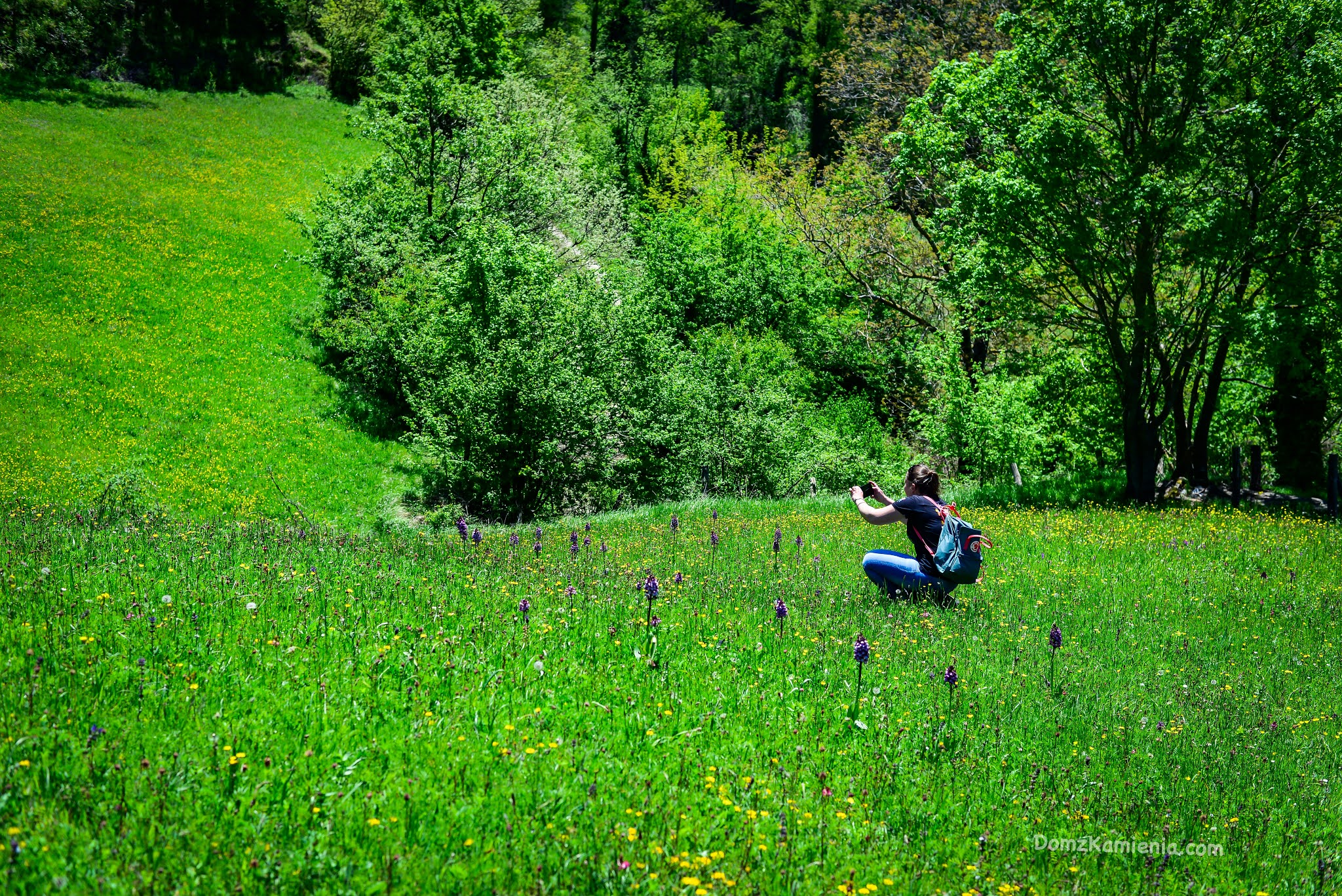 Dom z Kamienia, trekking, Biforco, Toskania nieznana