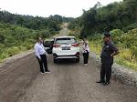 Jalan Aspal Menuju Kantor Bupati Taliabu Diduga Asal Jadi