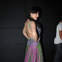 Archana veda bare back on ramp