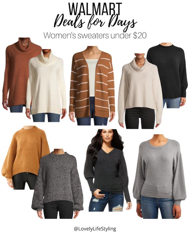 Walmart sweaters under $20