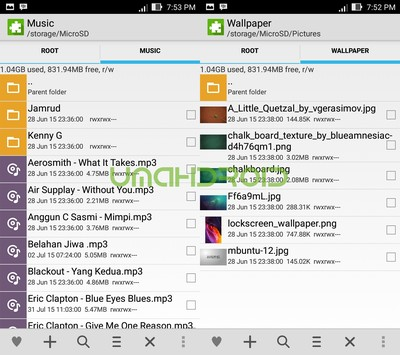 Root Explorer Style Asus File Manager - Umahdroid
