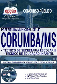 Concurso Prefeitura de Corumbá 2018