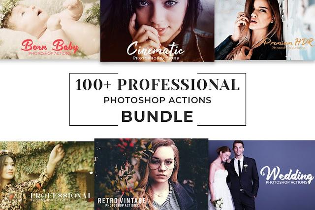 100+ Kumpulan Photoshop action Pro Gratis