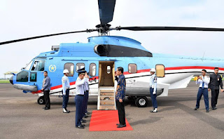 Helikopter Kepresidenan Super Puma
