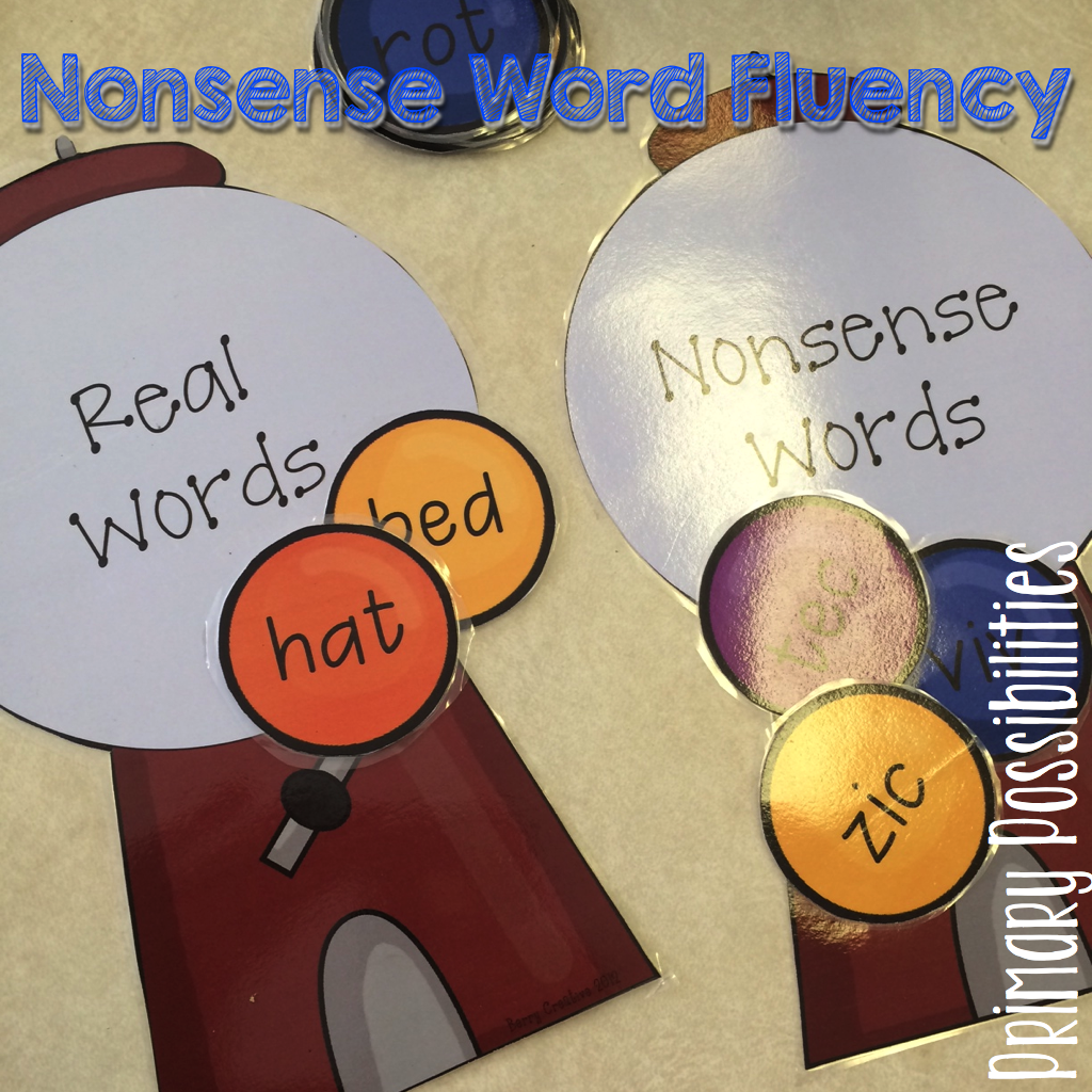 Primary Possibilities 10 Ways To Practice Nonsense Words
