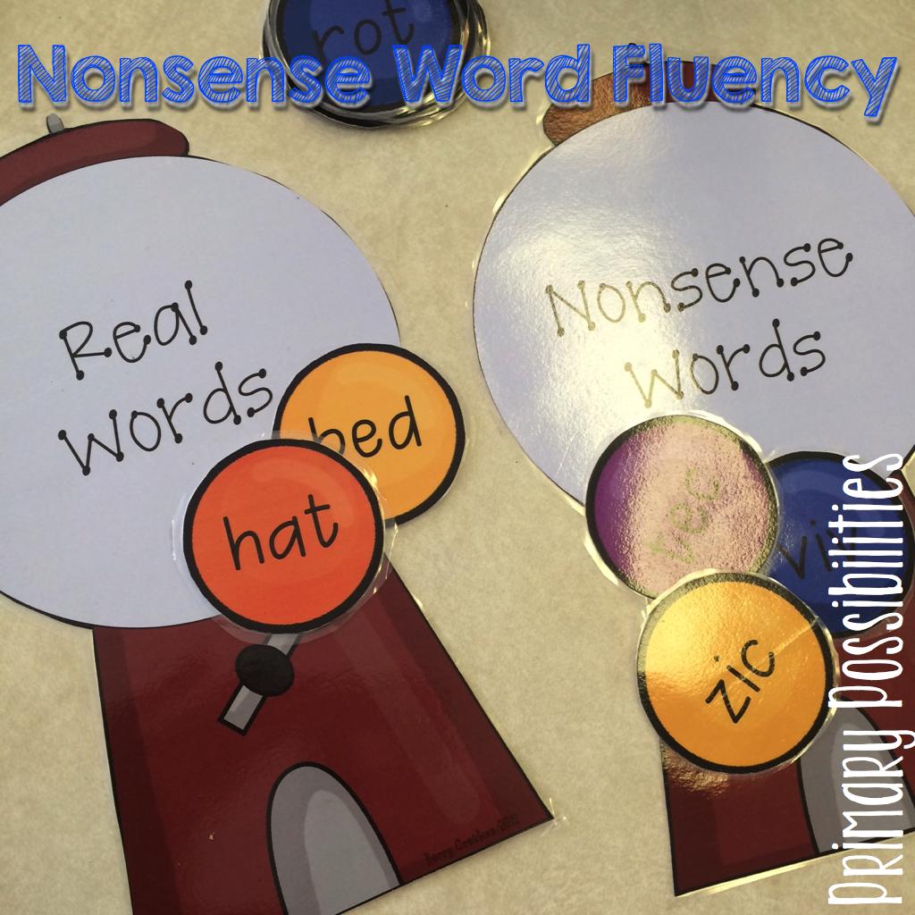 Primary Possibilities 10 Ways To Practice Nonsense Words