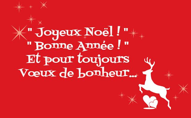 Vœux de Joyeux Noël & Bonne Année !