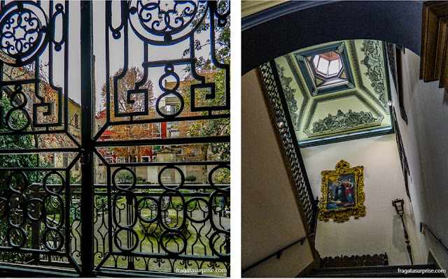 Palácio Las Columnas, sede da Faculdade de Tradução da Universidade de Granada, Espanha