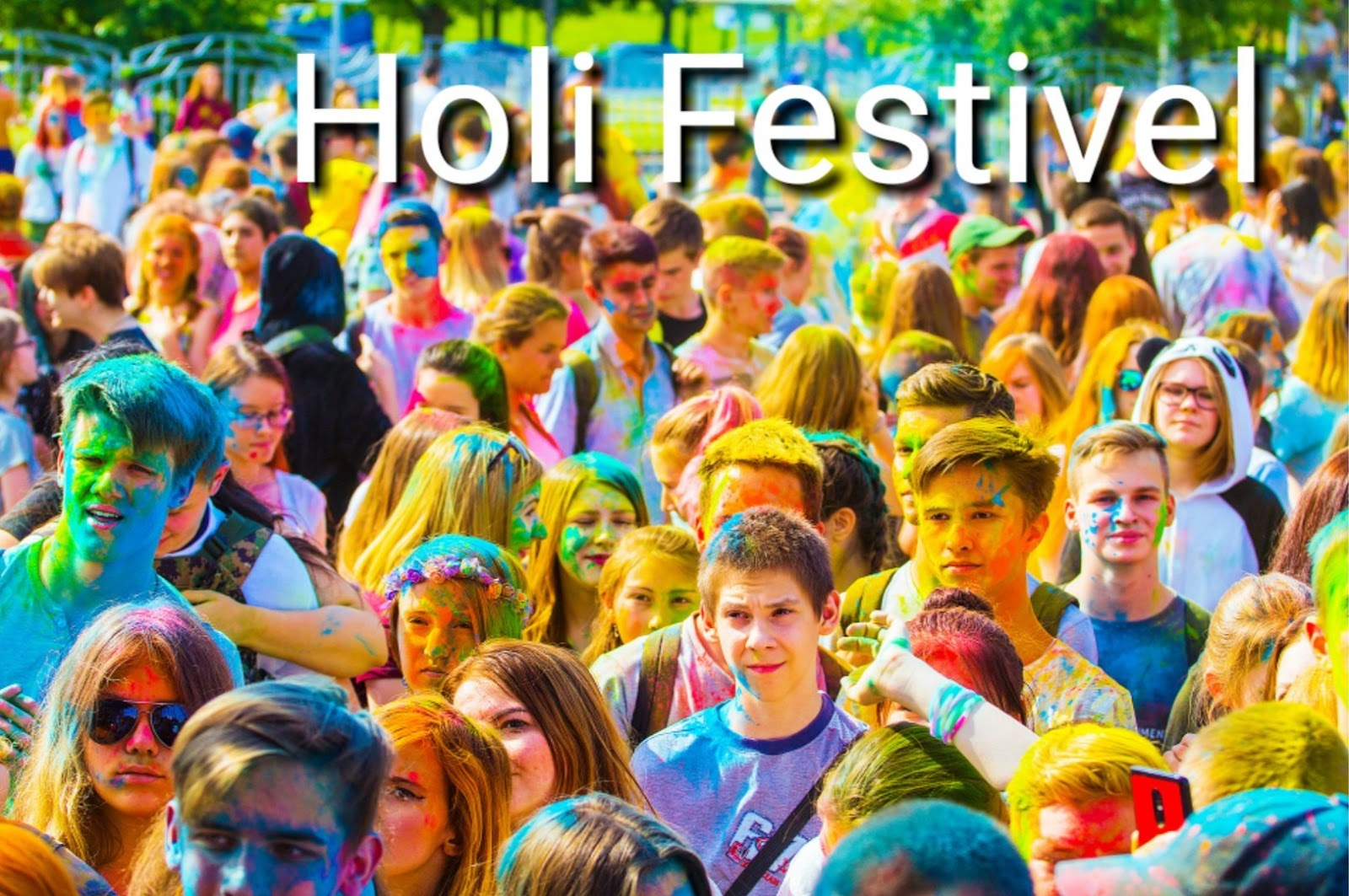 Holi festival in India date: 20 march 2019