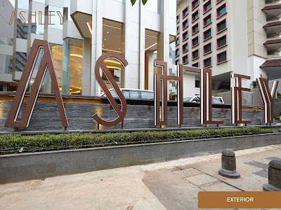 Exterior dari Ashley Hotel Jakarta