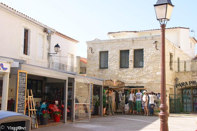 Le casette tipiche del centro di Les Saintes Maries de la Mer
