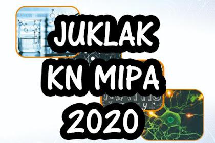 Juklak KN MIPA 2020 (Kompetisi Nasional MIPA) PT