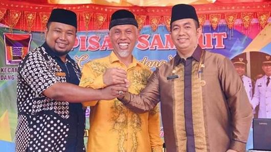 Walikota Mahyeldi Andalkan Tomi dan Teddy Majukan Nanggalo dan Padang Selatan