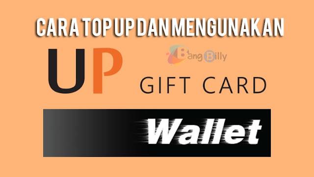 Cara Top Up di UniPin Dengan Voucher Gift Card