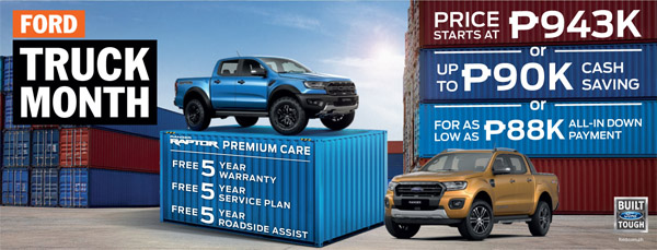 Ford, Ford Truck Month, Ford Ranger models, Ford Ranger Wildtrak, Ford Ranger Raptor, road trip,