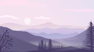 landscape minimalist mobile wallpaper