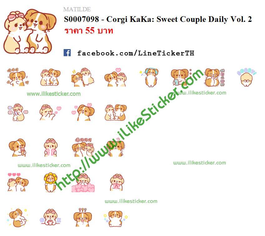 Corgi KaKa: Sweet Couple Daily Vol. 2
