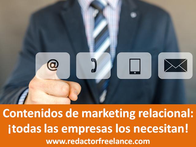 Contenidos de marketing relacional: ¡todas las empresas los necesitan!