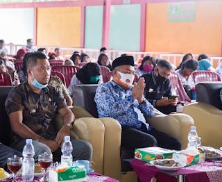 Bupati Labuhanbatu Silaturahmi Bersama Tenaga Didik Se- Kecamatan Bilahulu