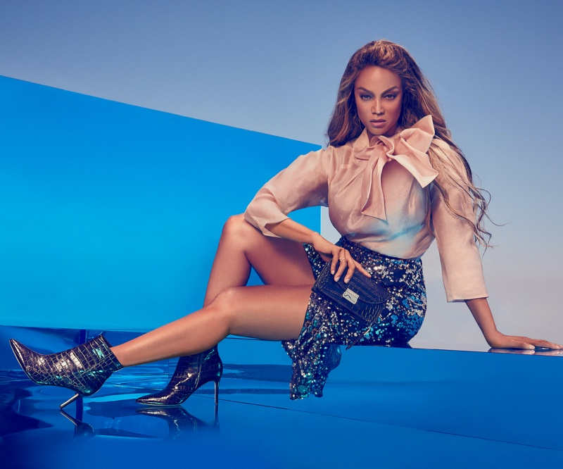 Supermodel Tyra Banks is the face of Nine West's fall 2019 campaign