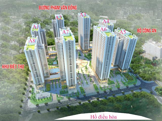 hình ảnh tổng thể dự án chung cư an bình city