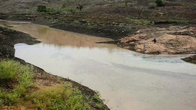 Barragem São Sebastião conseguiu se recuperar e está hoje com 25% da sua capacidade de armazenamento